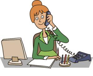 secretary-in-the-office